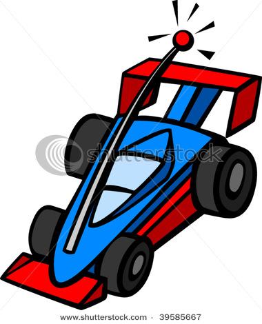 Radio control car toy. Clipart cars remote