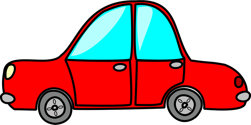 Vehicle pinart children toy. Clipart cars road