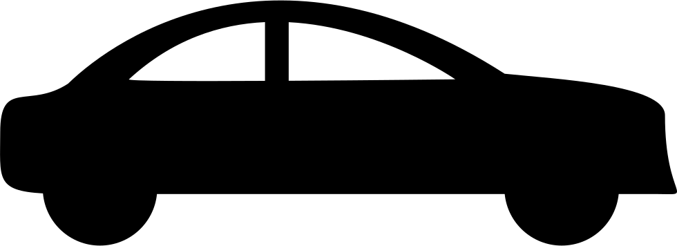 Car side silhouette at. Clipart cars shadow