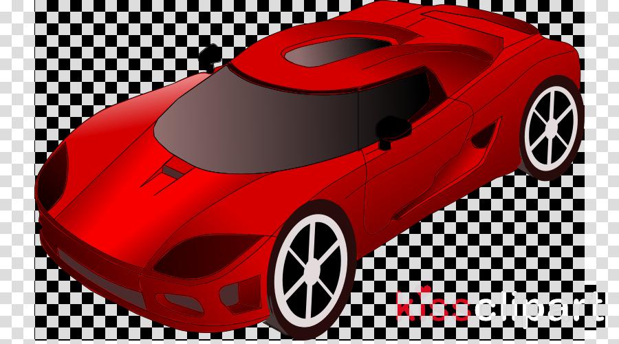 Clipart cars sport. Car cartoon red technology
