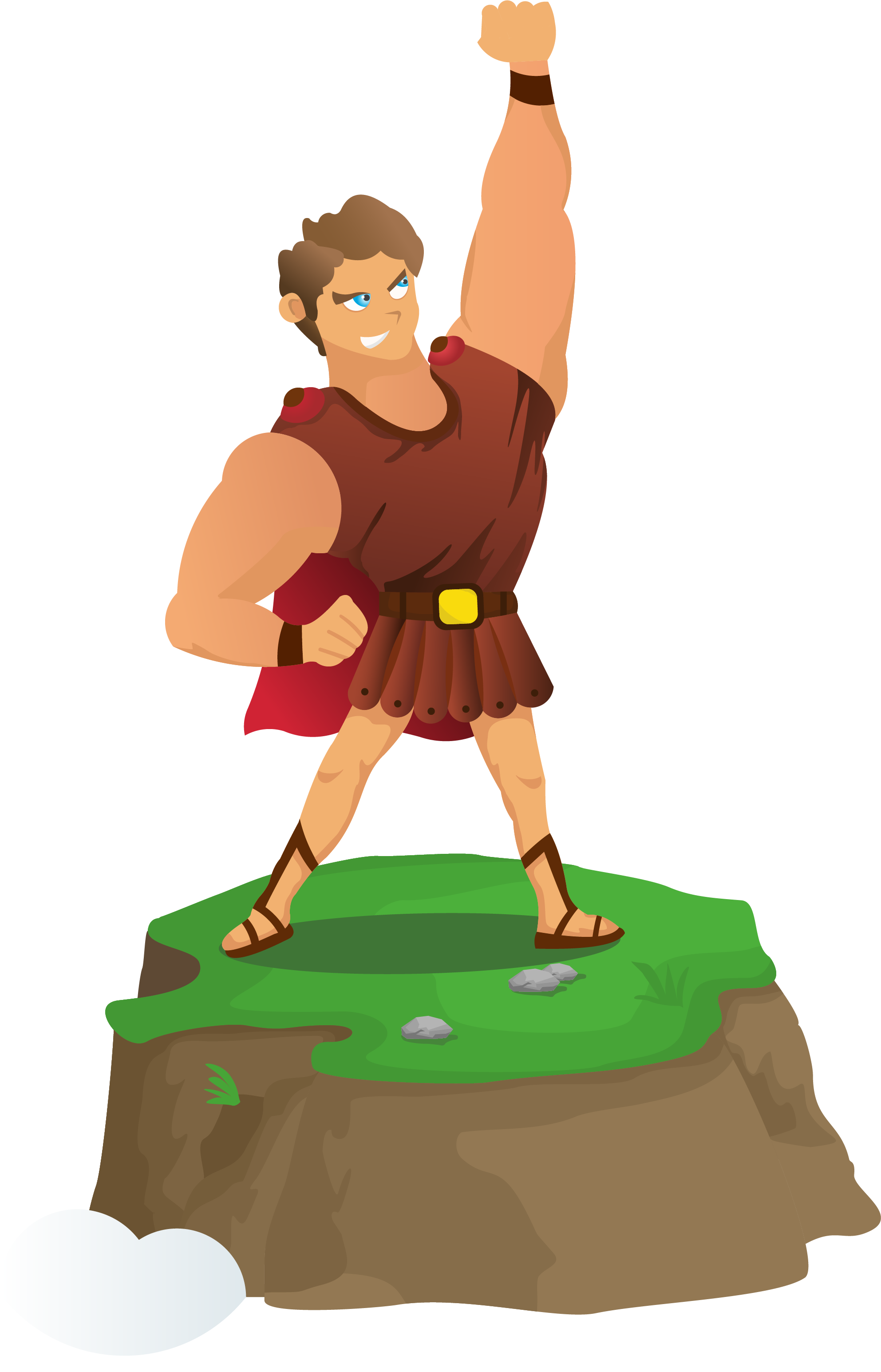 Wrestlers clipart animated. Hercules png images who