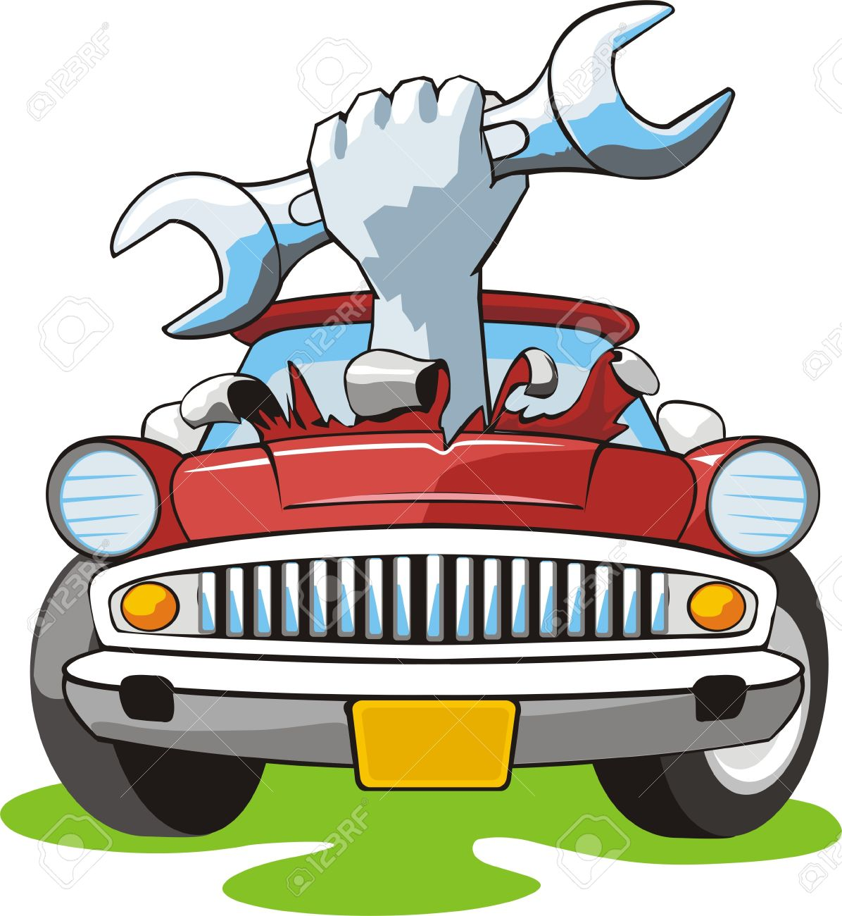 Clipart cars tool. Mechanic images free download