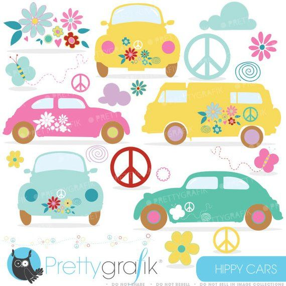 Clipart cars valentine. Buy get hippie commercial