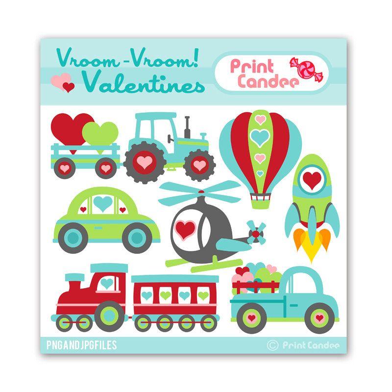 Vroom valentines buy get. Clipart cars valentine