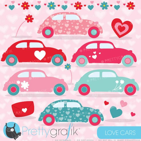Buy get love commercial. Clipart cars valentine