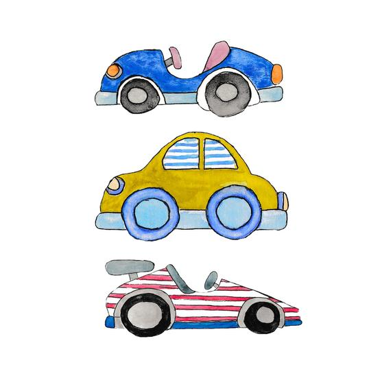 Clipart cars watercolor. Clip art baby shower