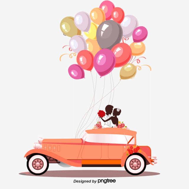 Car png images vector. Clipart cars wedding