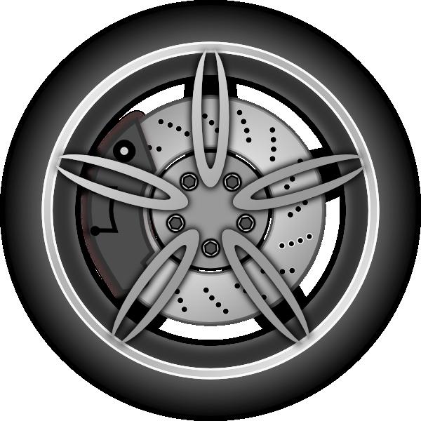 Clip art at clker. Wheel clipart four wheel