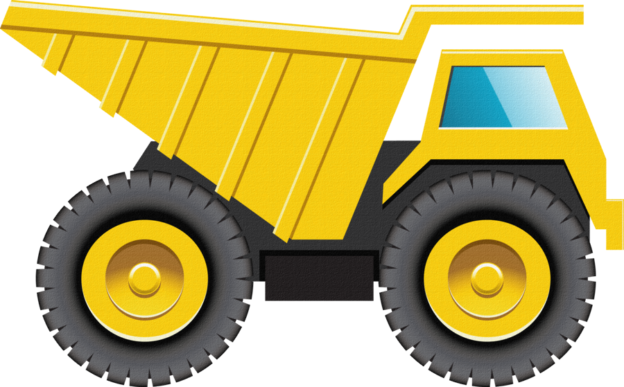 Constru o minus printables. Kids clipart truck