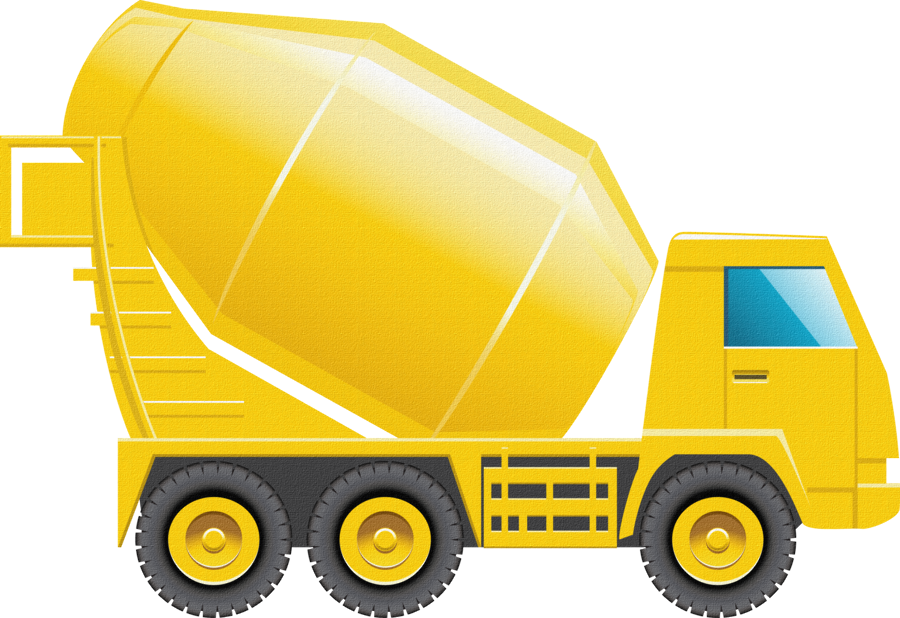 collection of construction. Clipart cars yellow