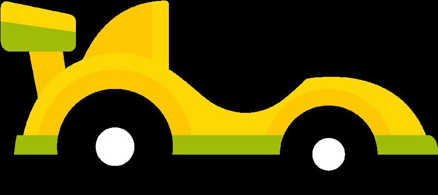 Clipart cars yellow. Race minus felt transportation