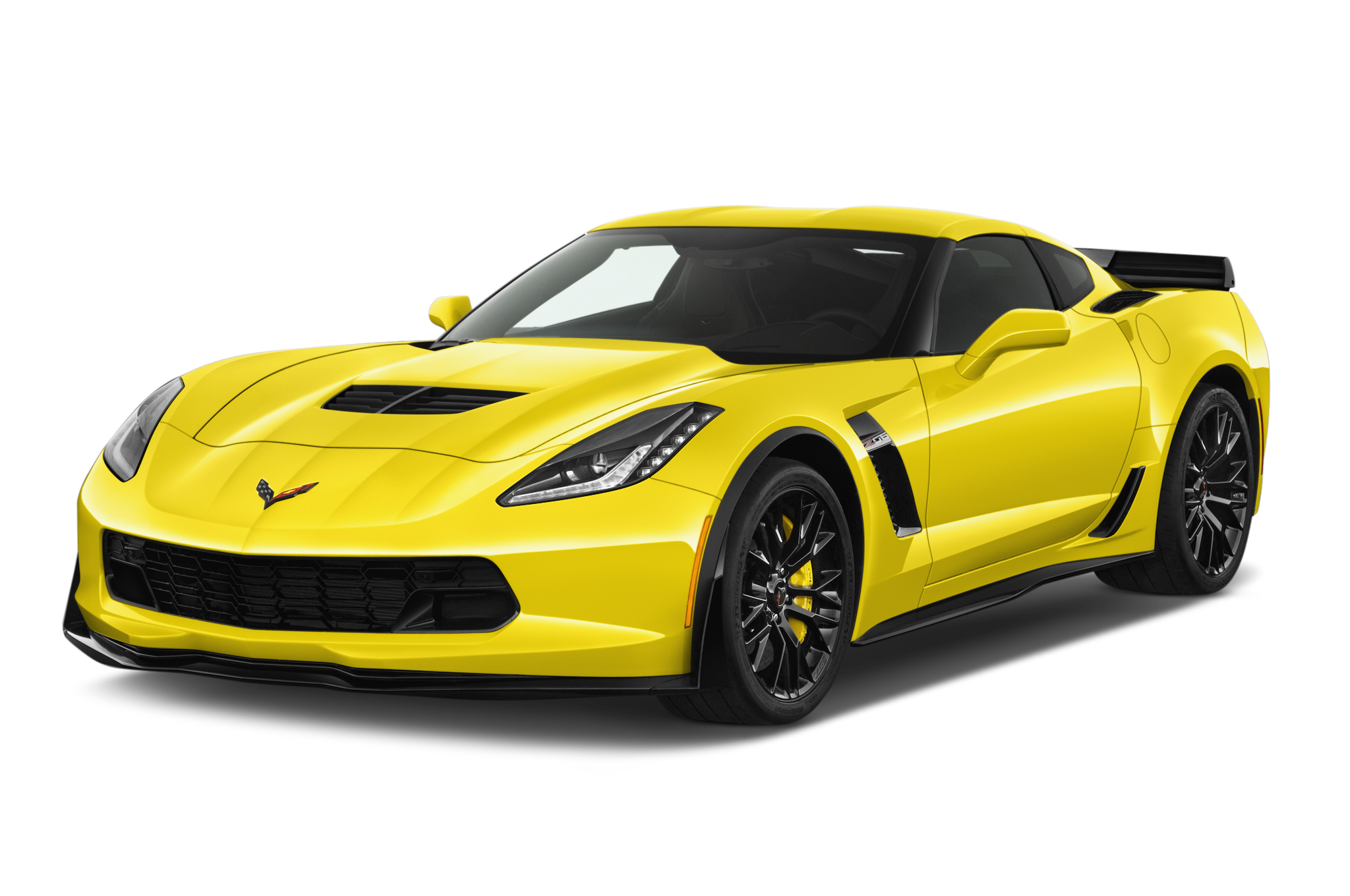 Clipart cars yellow. Corvette free collection download