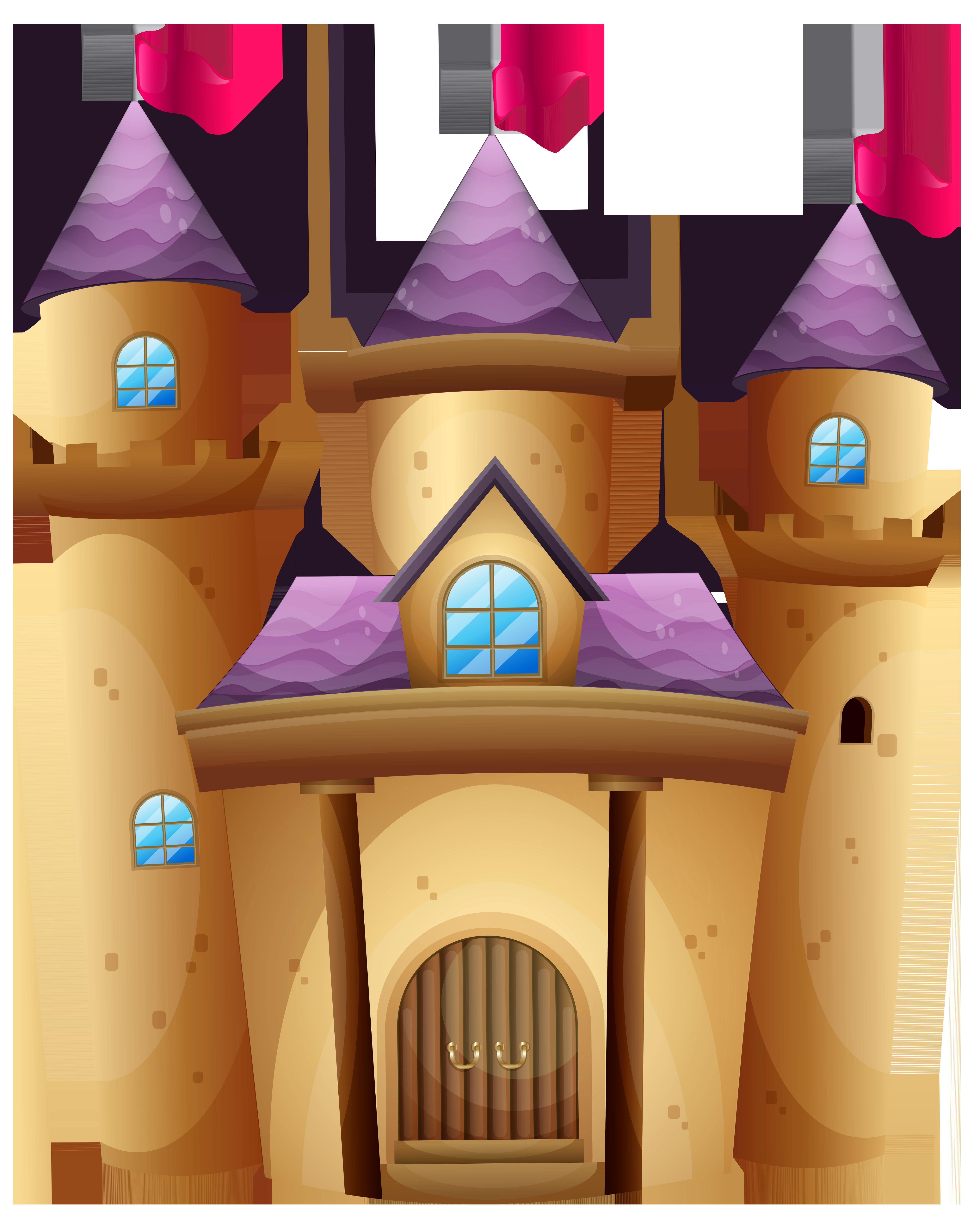 Clipart castle. Png clip art image
