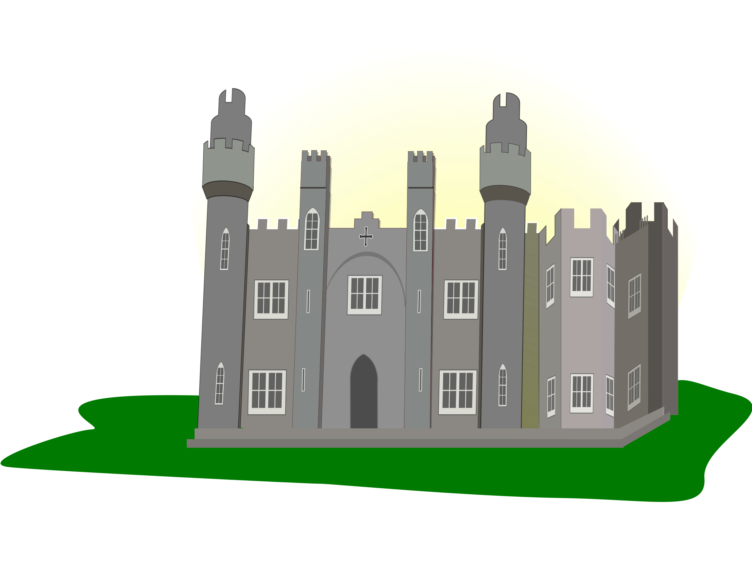 Clipart castle animated.