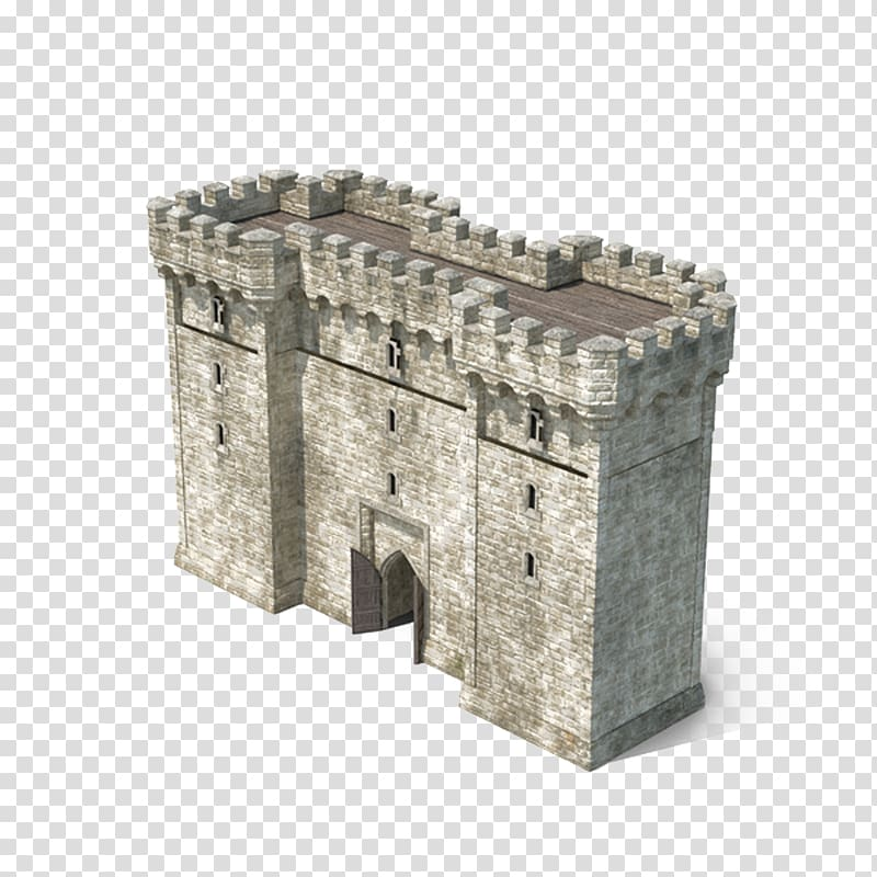 Clipart castle balcony. Gatehouse gate and door