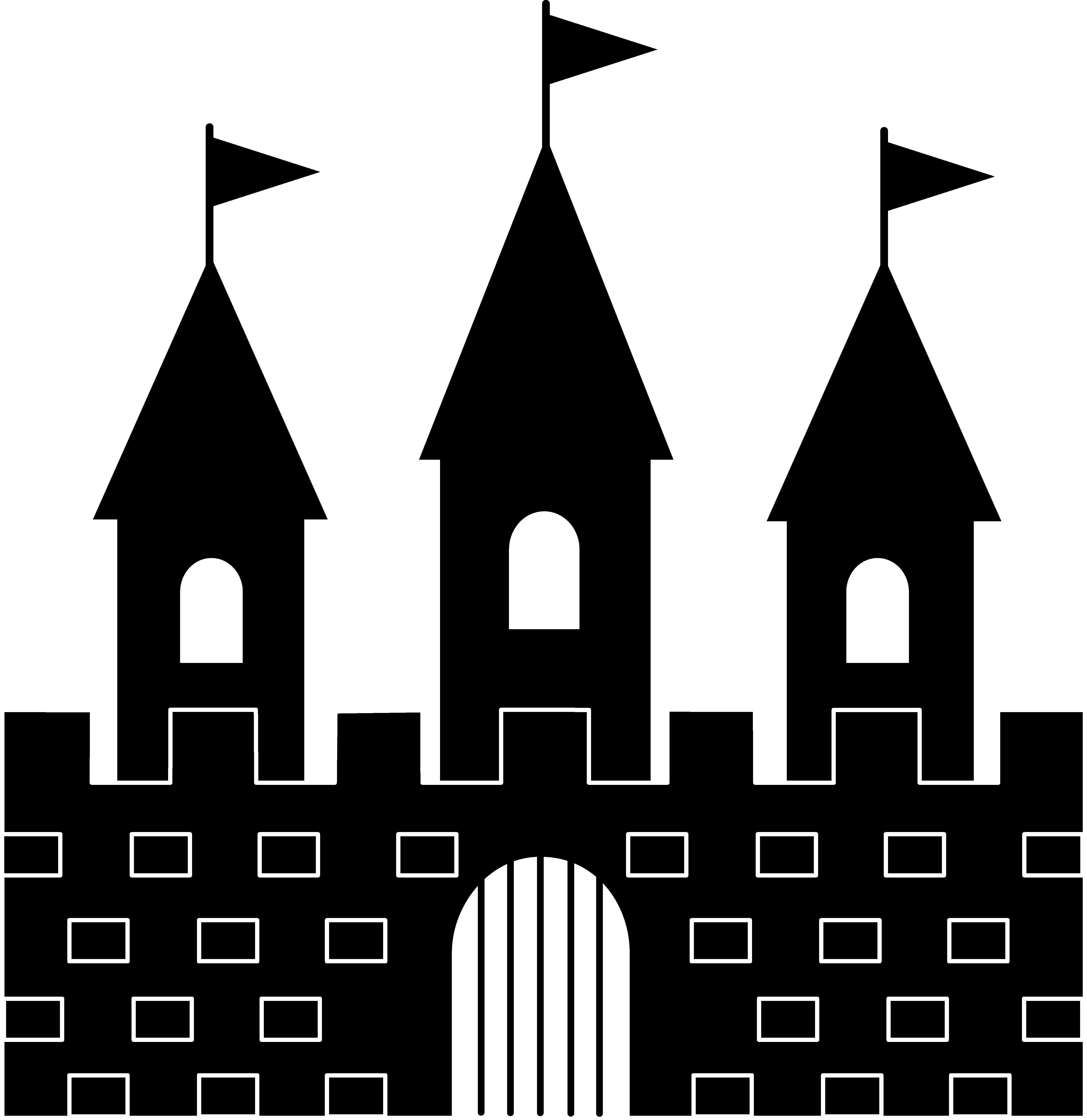 Clip art . Clipart castle balcony