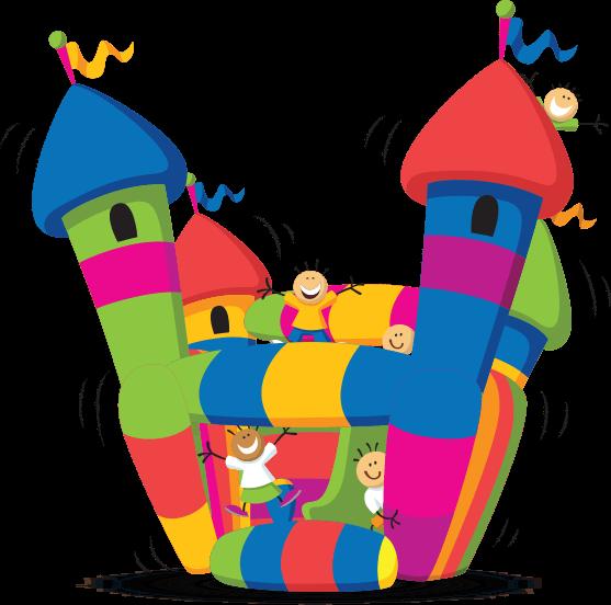 Clipart castle bitmap. Bouncy clip art net