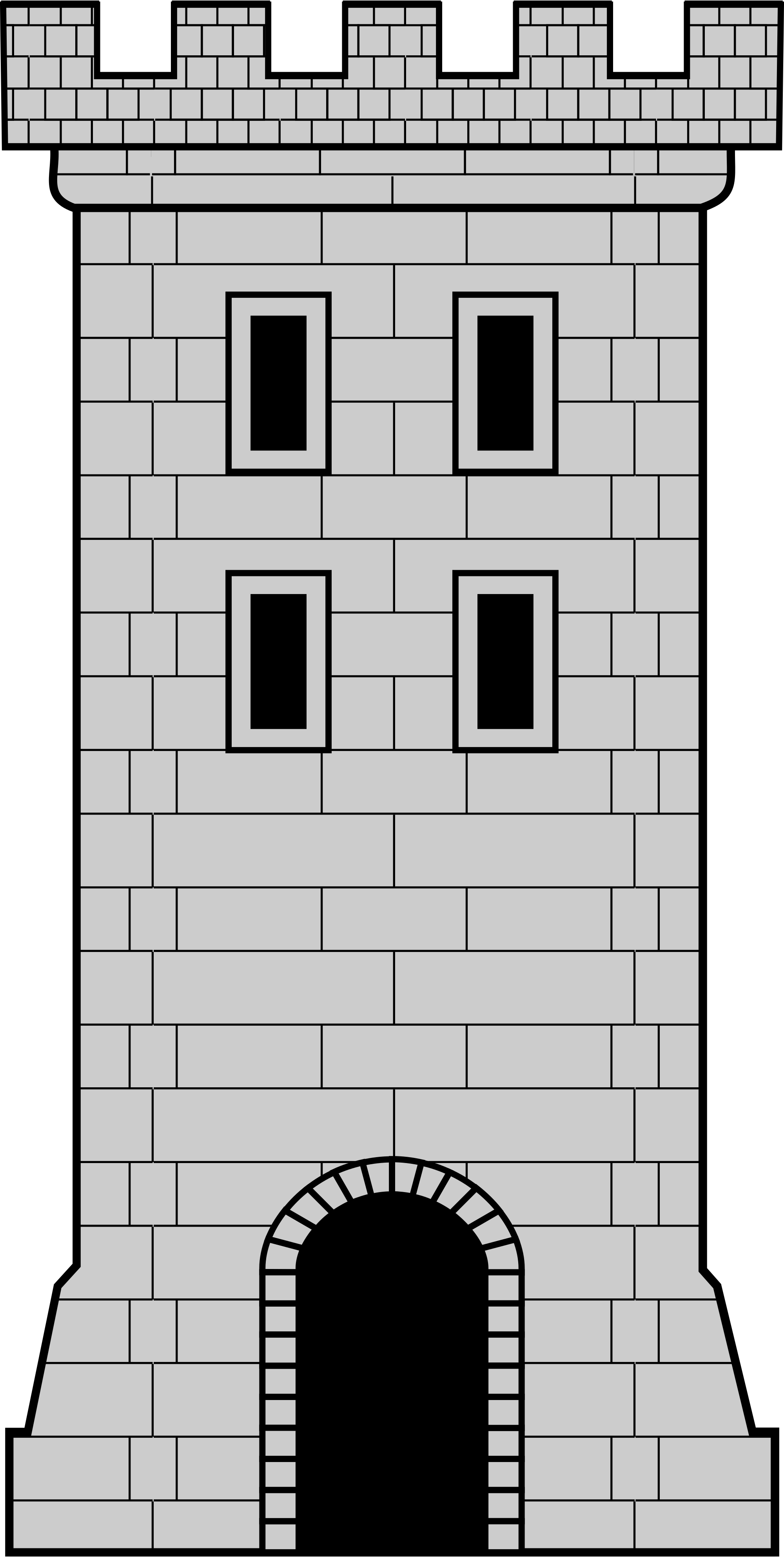 Castle svg wikimedia commons. Tower clipart file