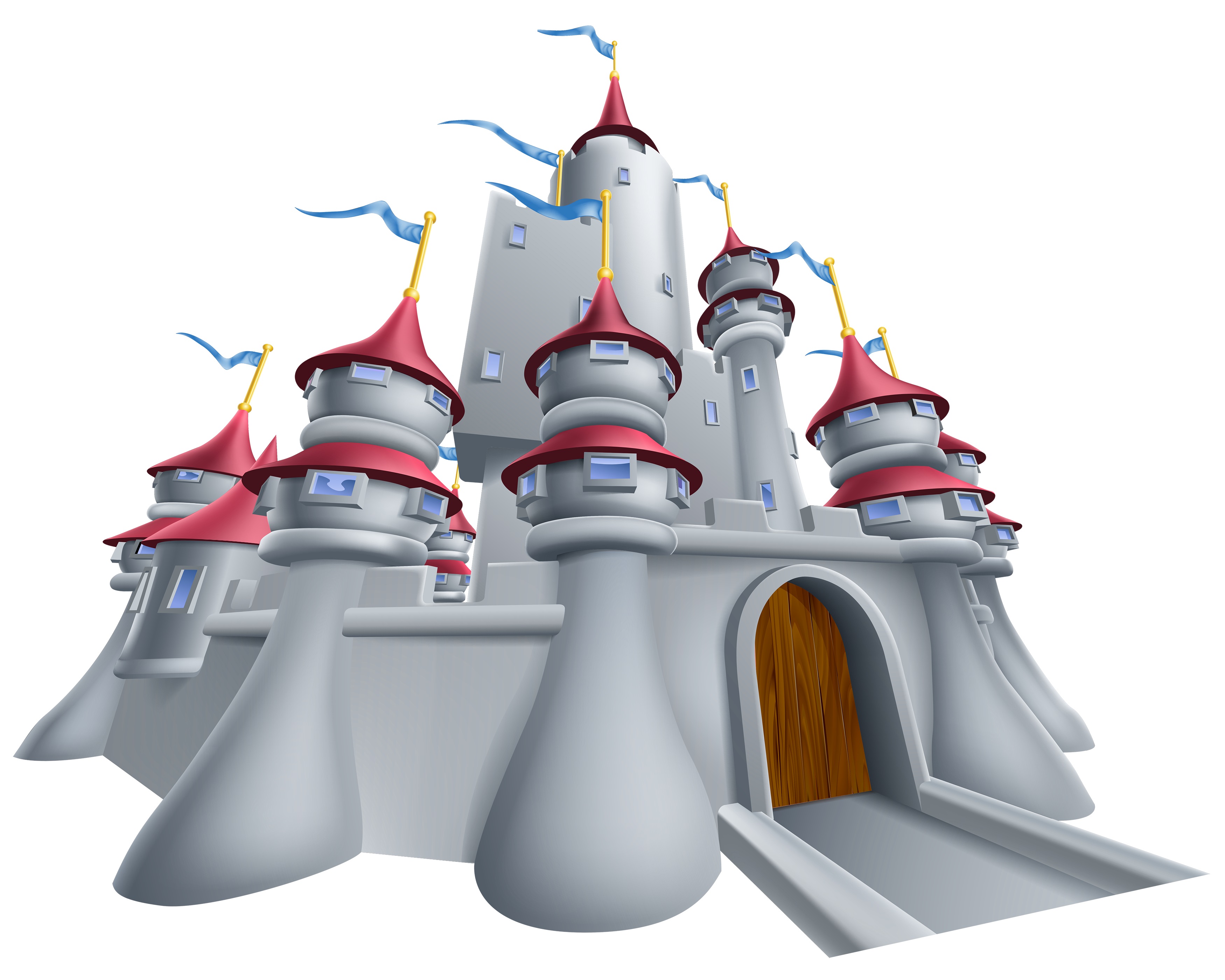 Grey png image gallery. Clipart castle blue