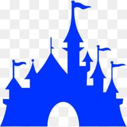Portal . Clipart castle blue