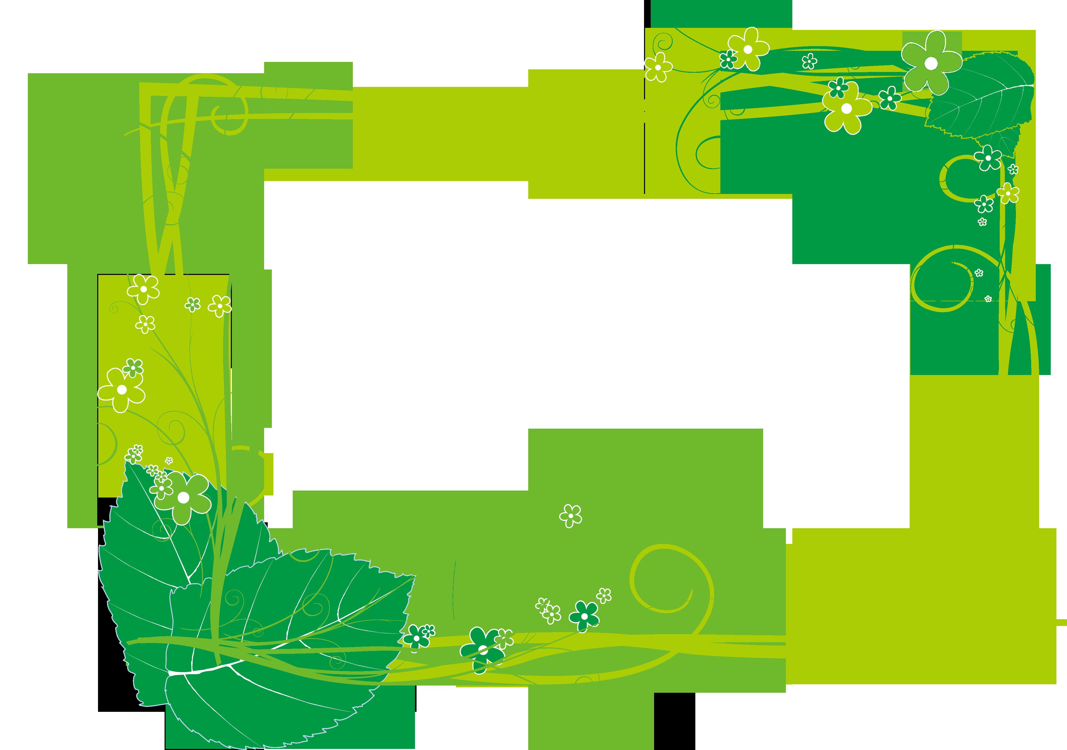Green plant designer clip. Plants clipart line art