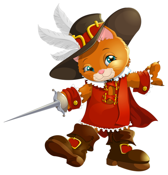 Clipart castle cat. The booted transparent png