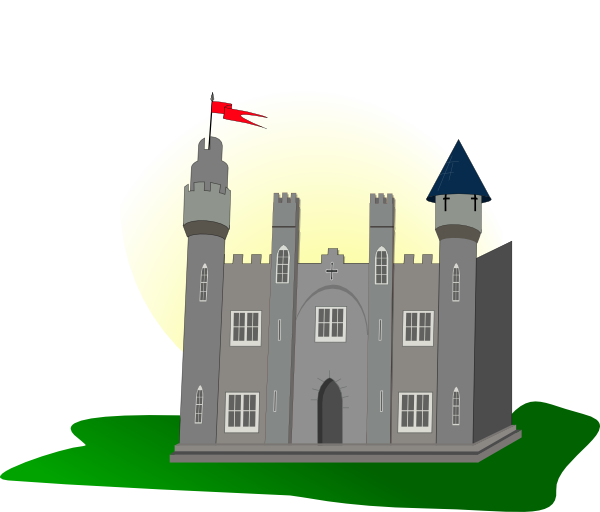 Clip art at clker. Clipart castle chinese