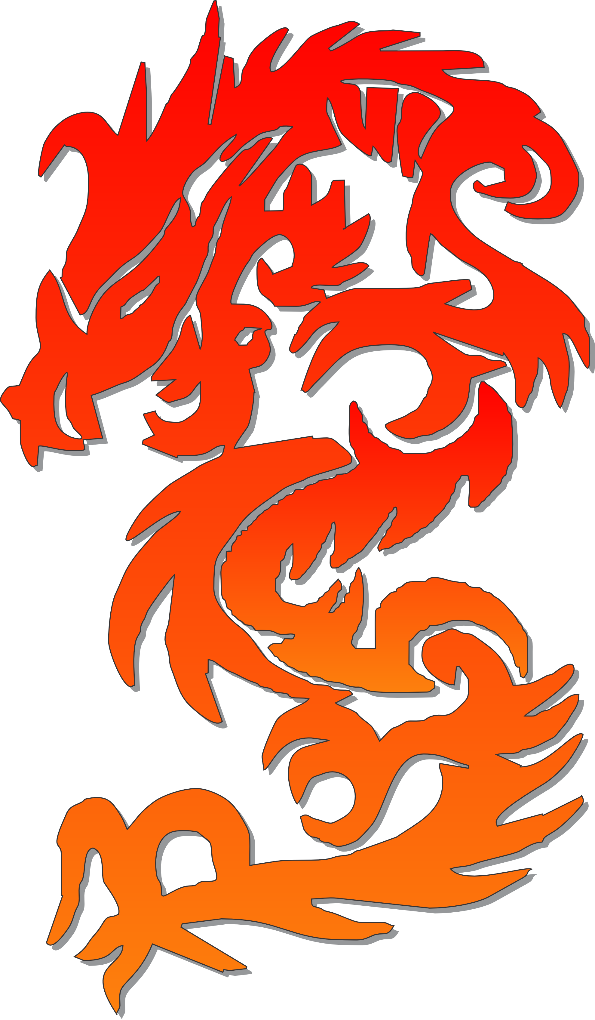 Clipart castle chinese. Dragon best ib art