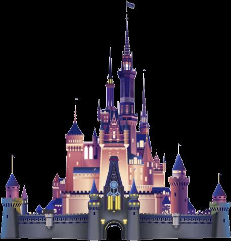 Free silhouette download clip. Clipart castle cinderella castle