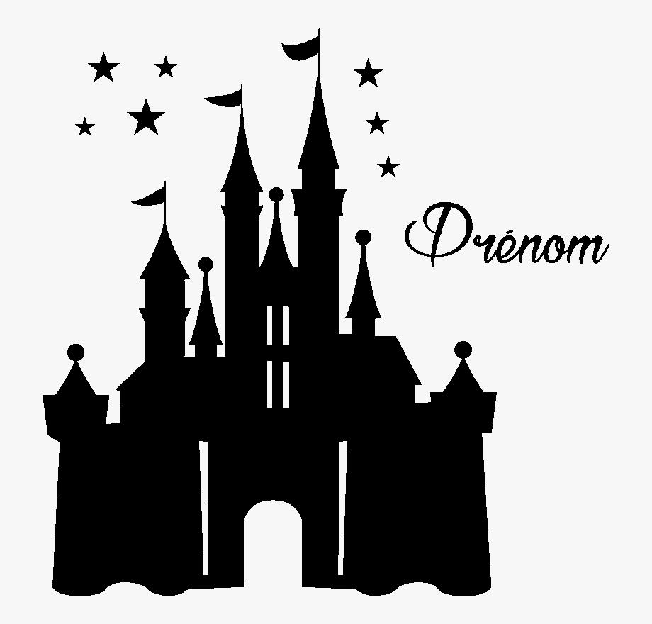 Disney silhouette png svg. Clipart castle cinderella castle