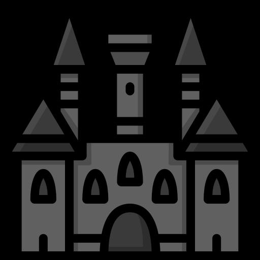 Harry hogwarts potter icon. Clipart castle colour