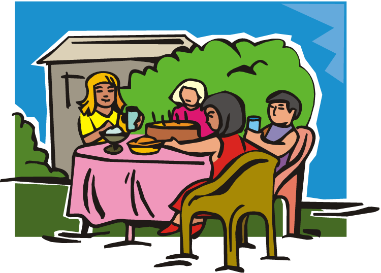 Table eating dining room. Weight clipart animated
