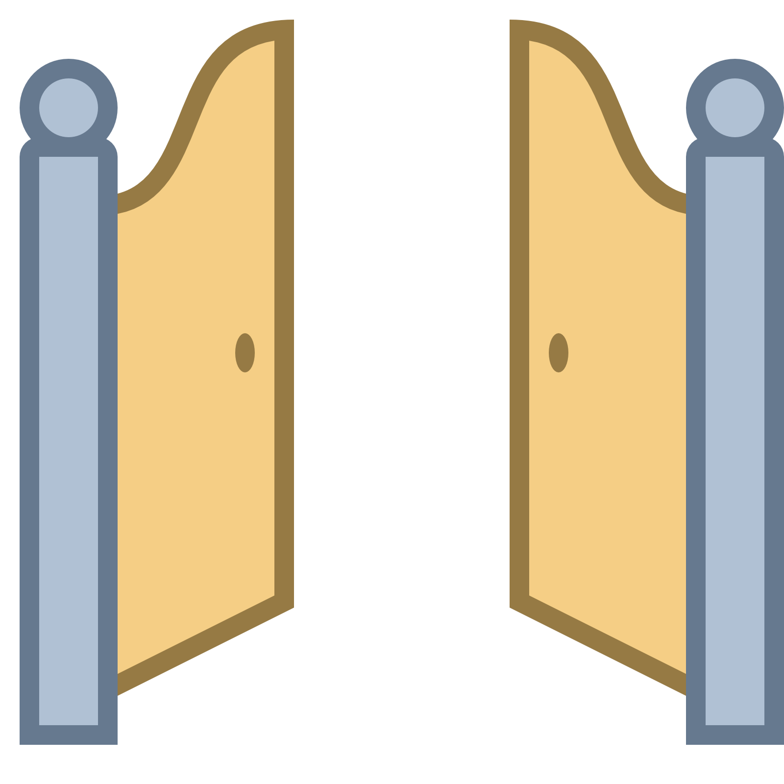 Entry gate cliparthot of. Clipart castle doors