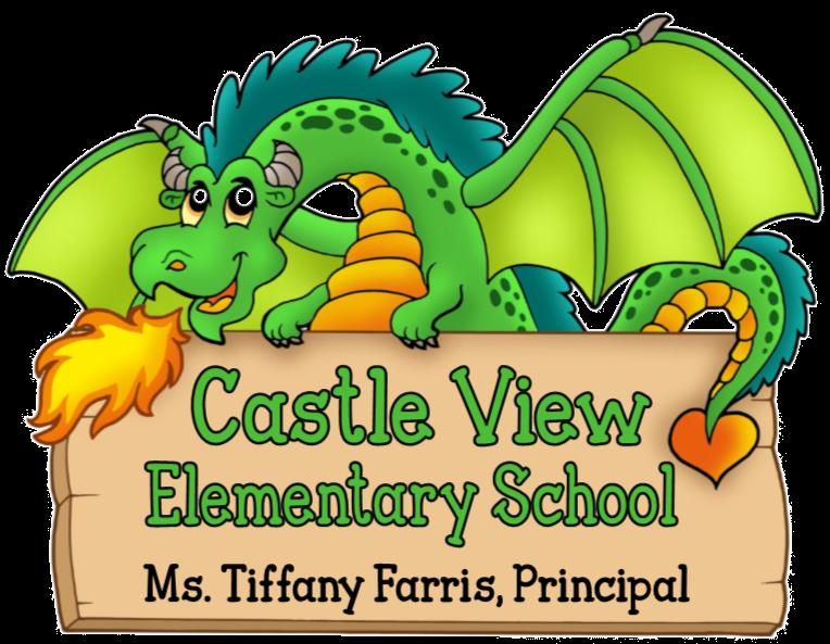 Home view elementary cv. Clipart castle dragon