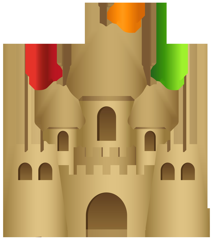Sand transparent png clip. Clipart castle easy