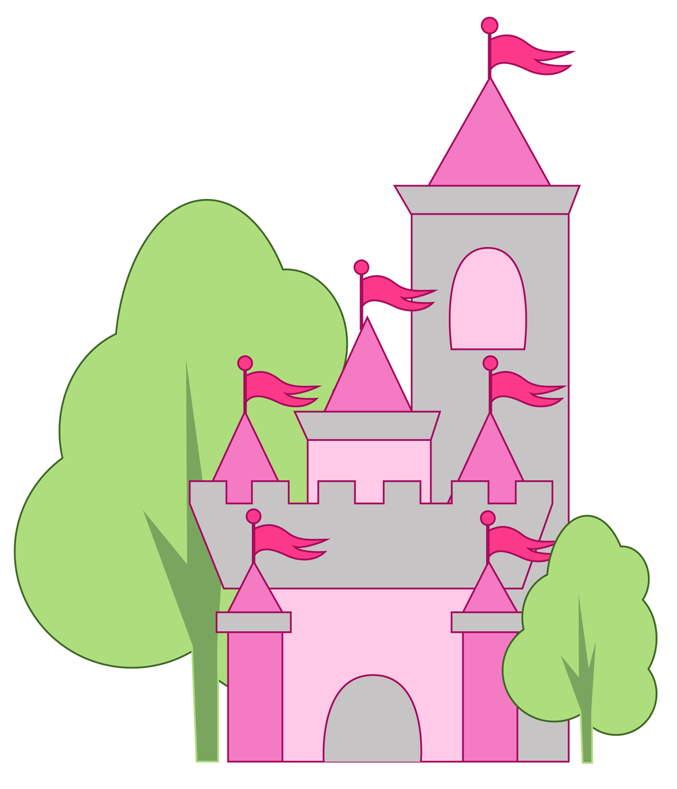 Free at getdrawings com. Palace clipart princess castle