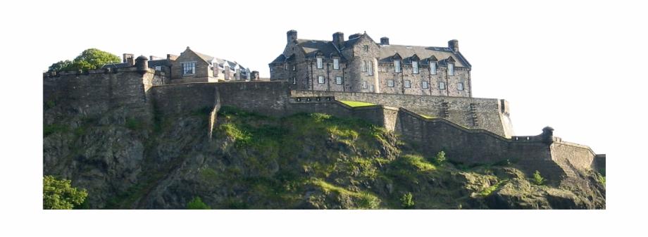 Clipart castle edinburgh castle. Free png images