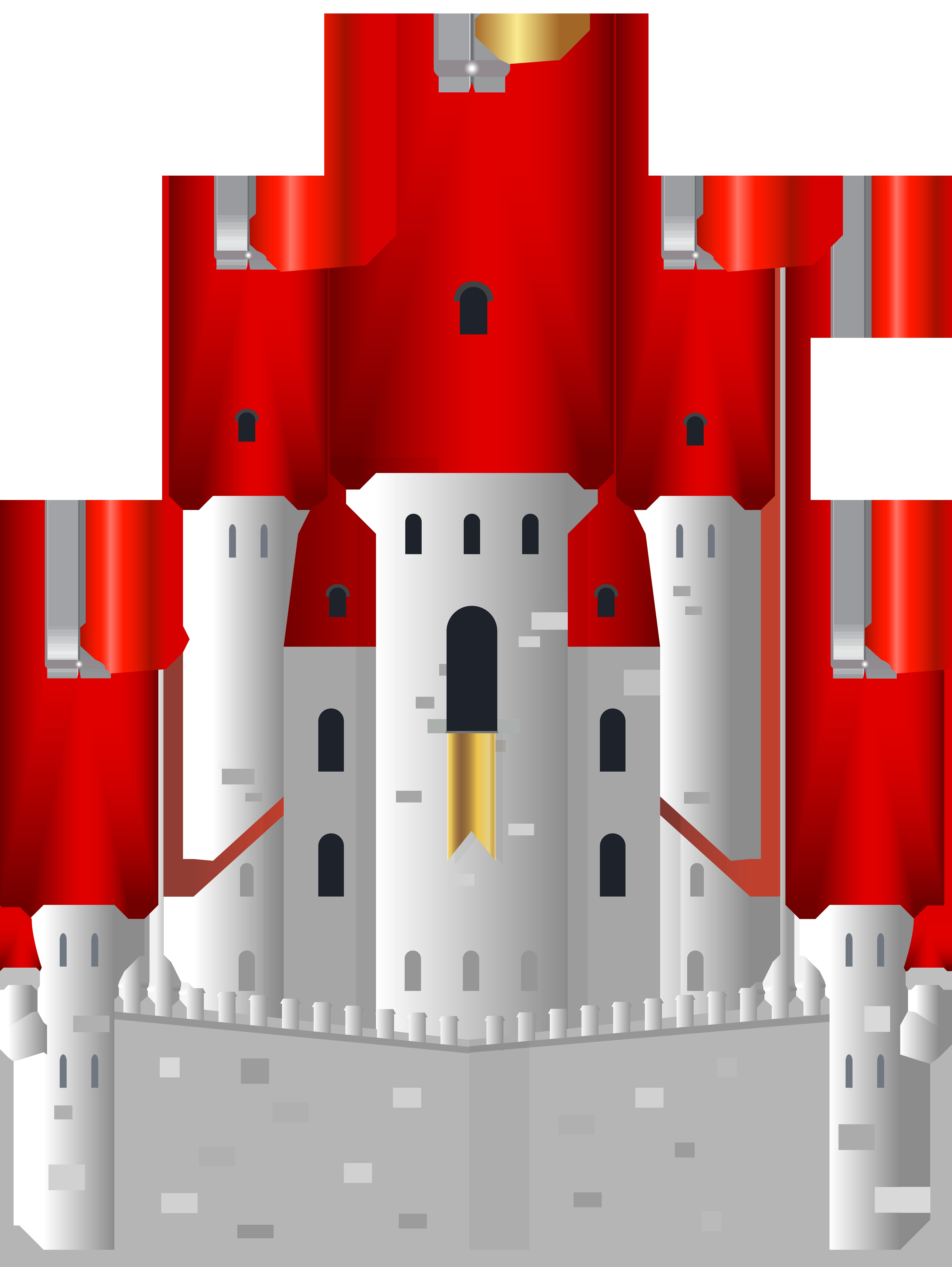 Castle png clip art. Fairytale clipart casle