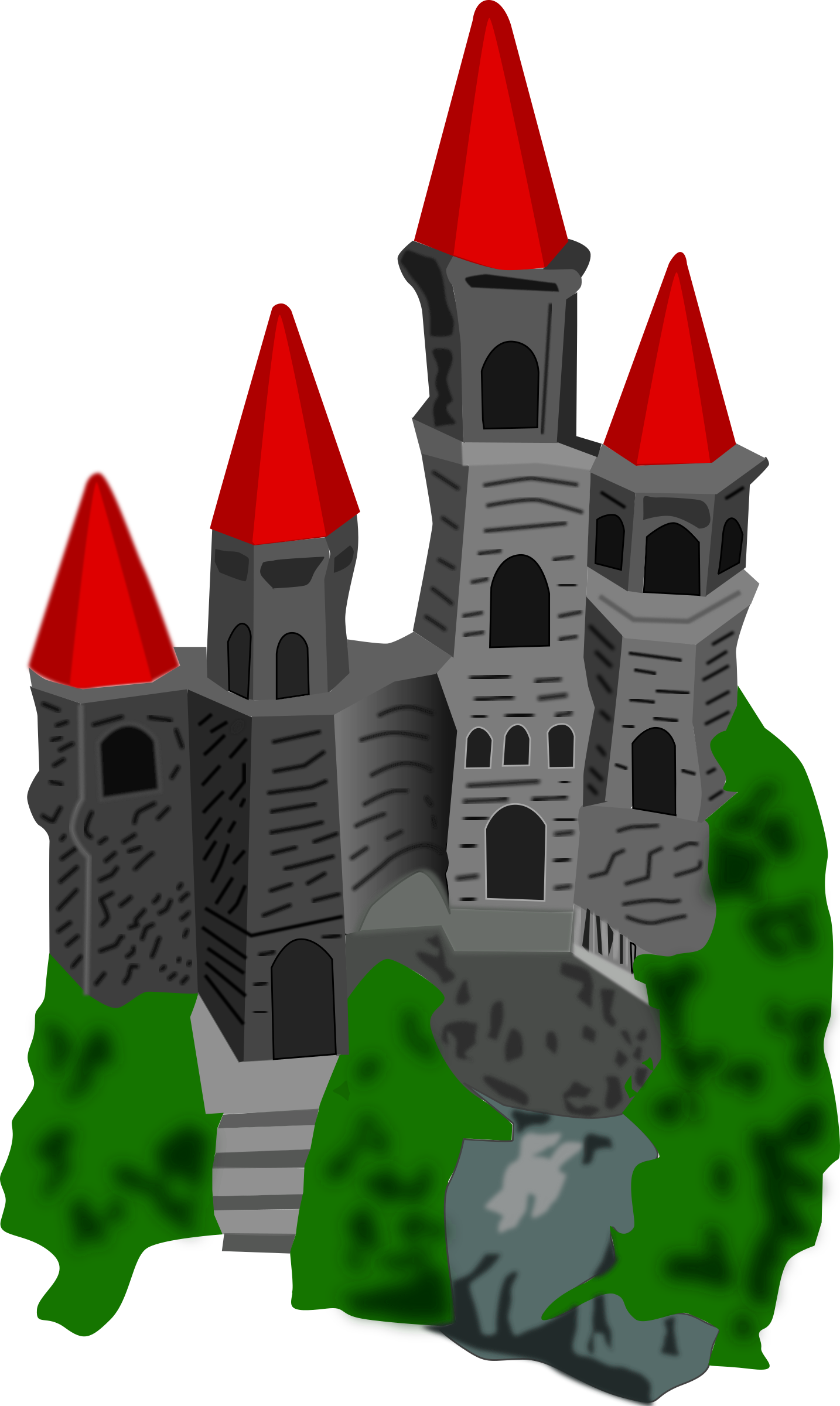 Color big image png. Clipart castle fantasy