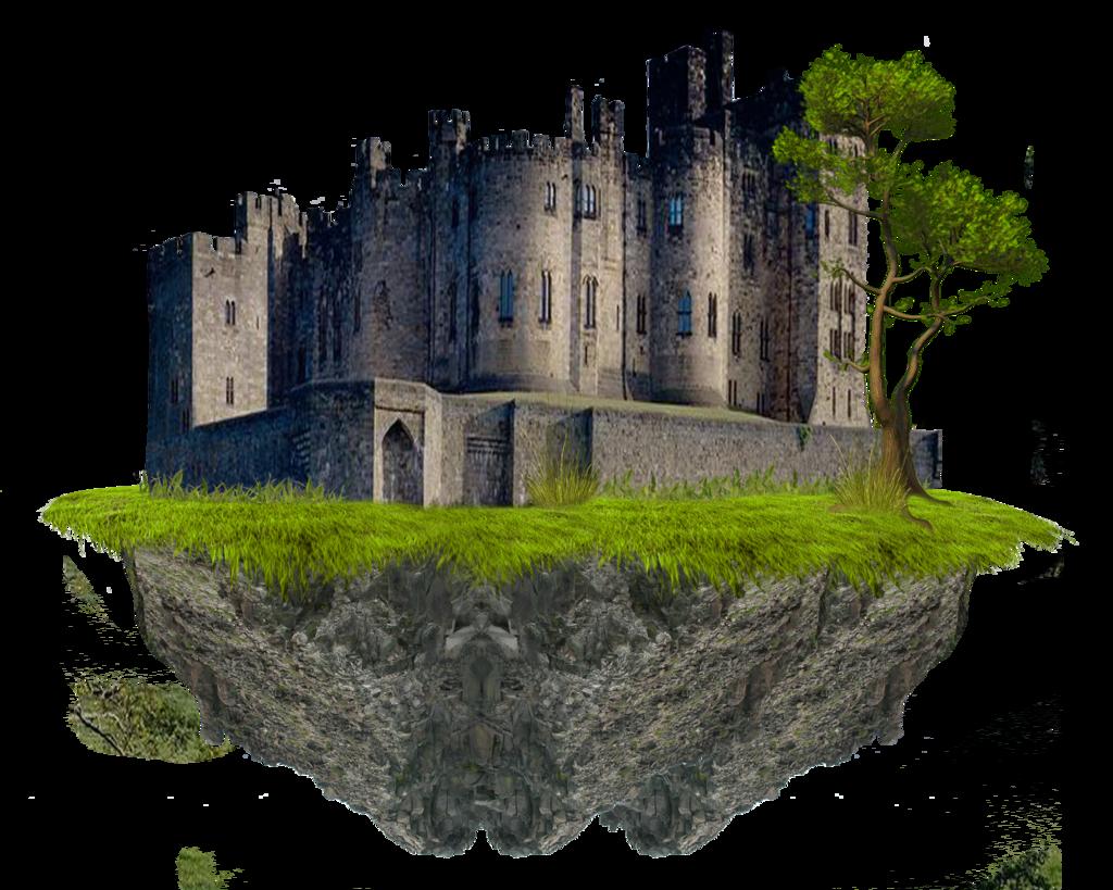 Clipart castle fantasy. Transparent png mart