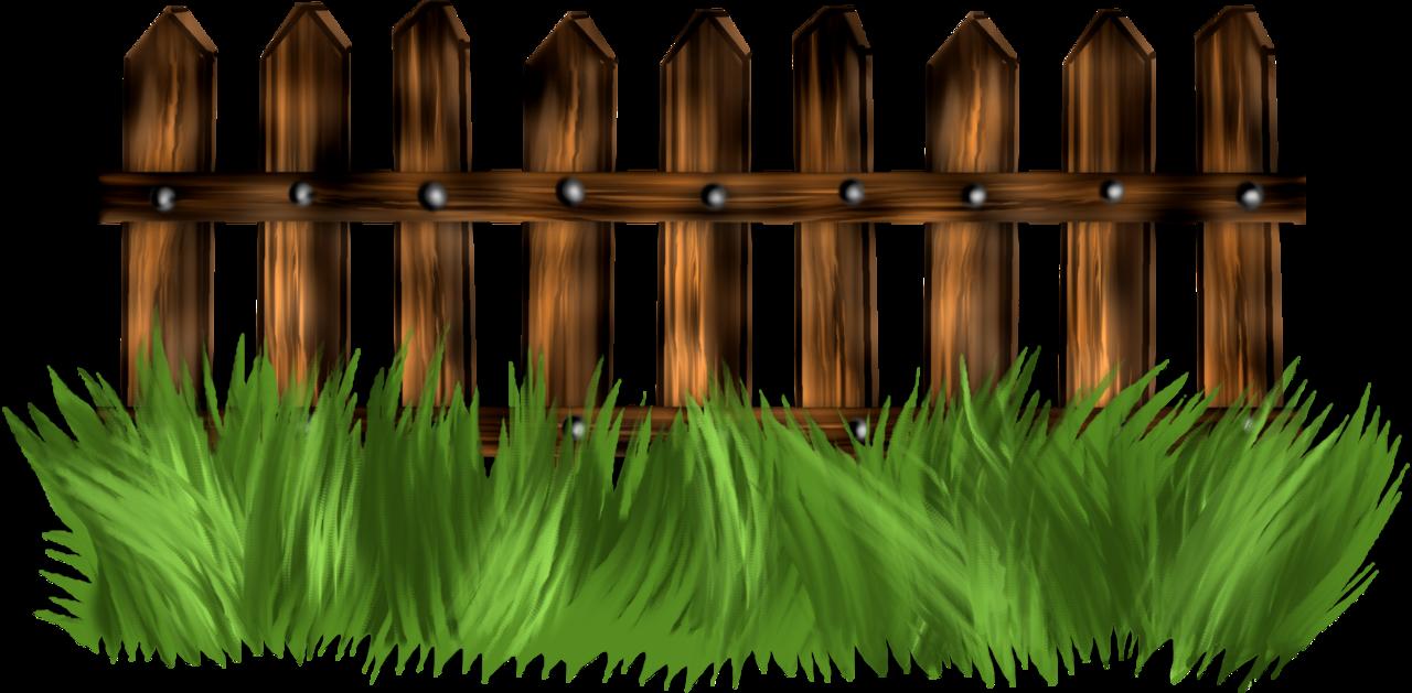 Clipart grass fence. Garden clip art green