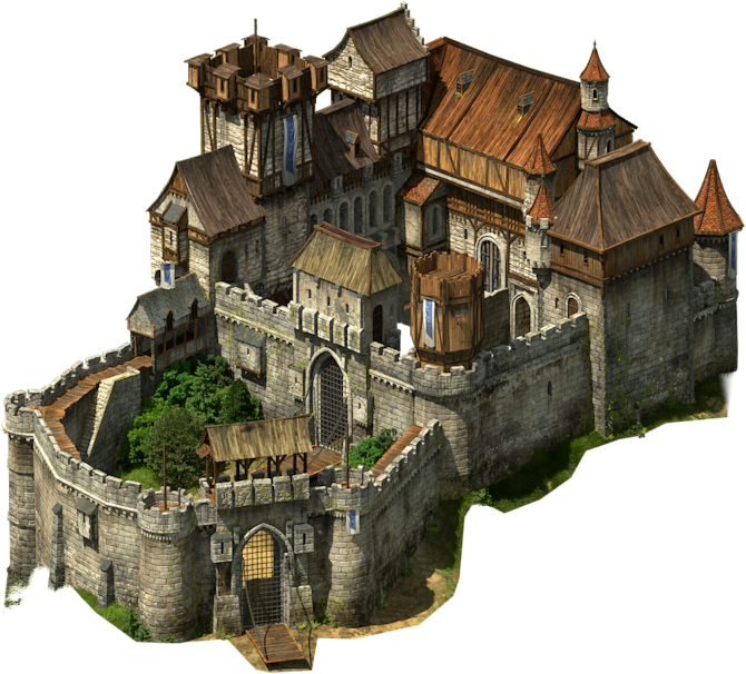 Clipart castle fortress. Tribal wars google search