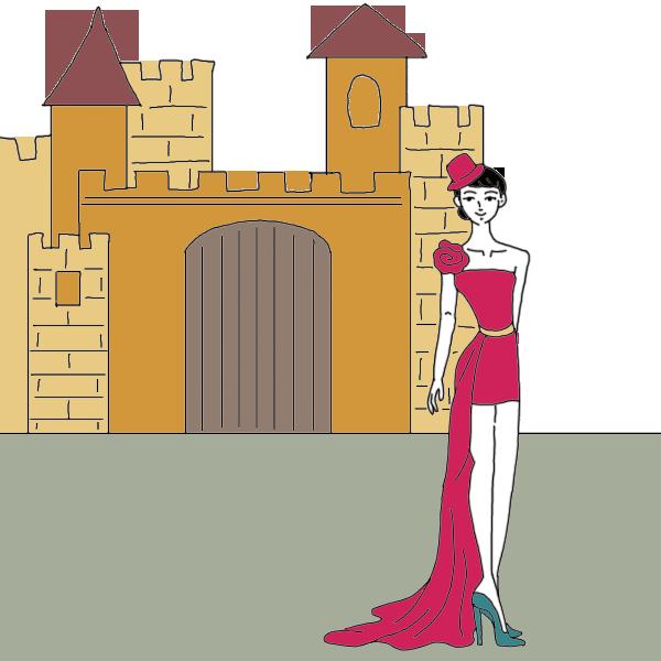 Castle dictionary interpret now. Dreaming clipart dream home