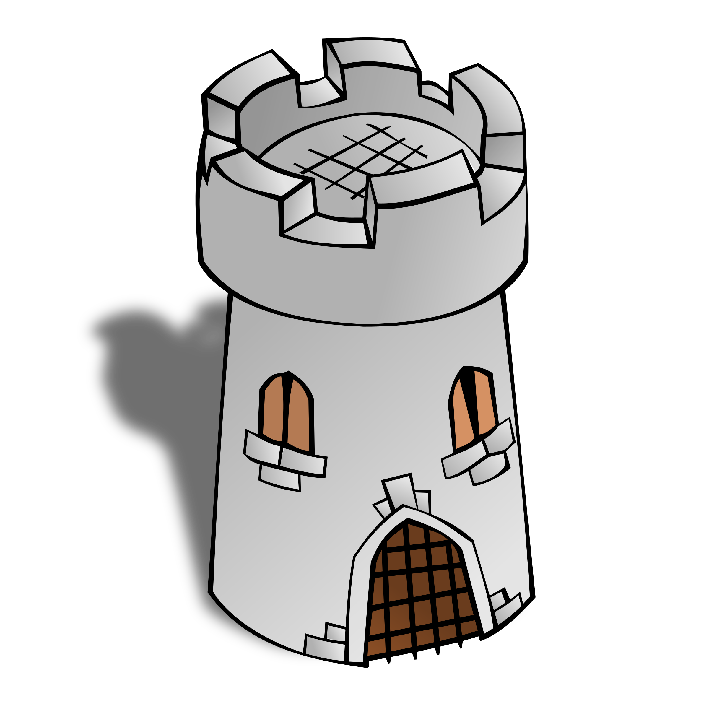 Tower clipart svg. Rpg map symbols round