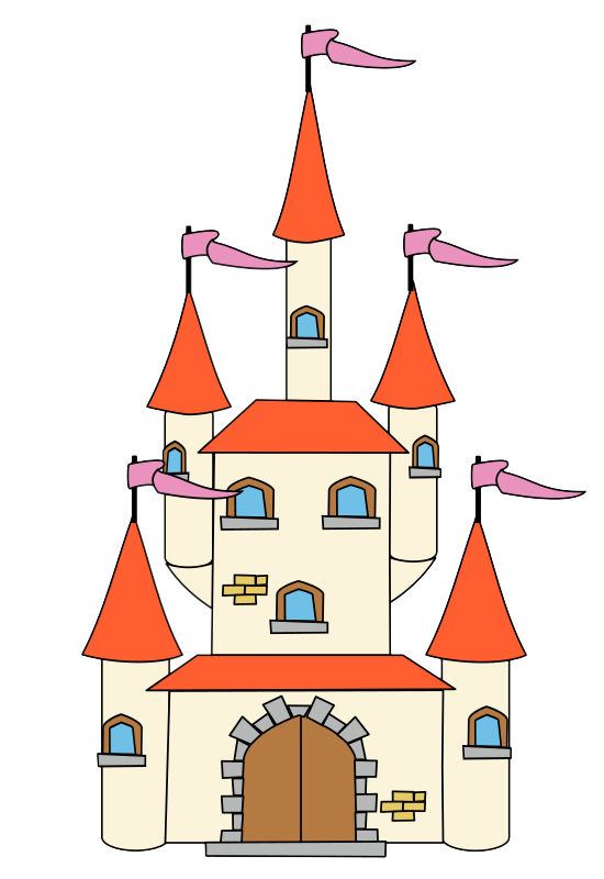 Castle free to use clip art