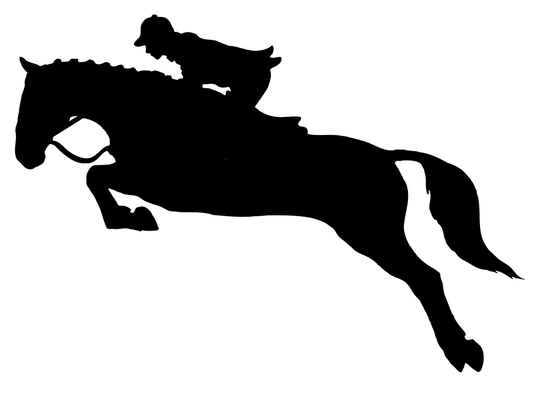 Running silhouette at getdrawings. Clipart castle horse