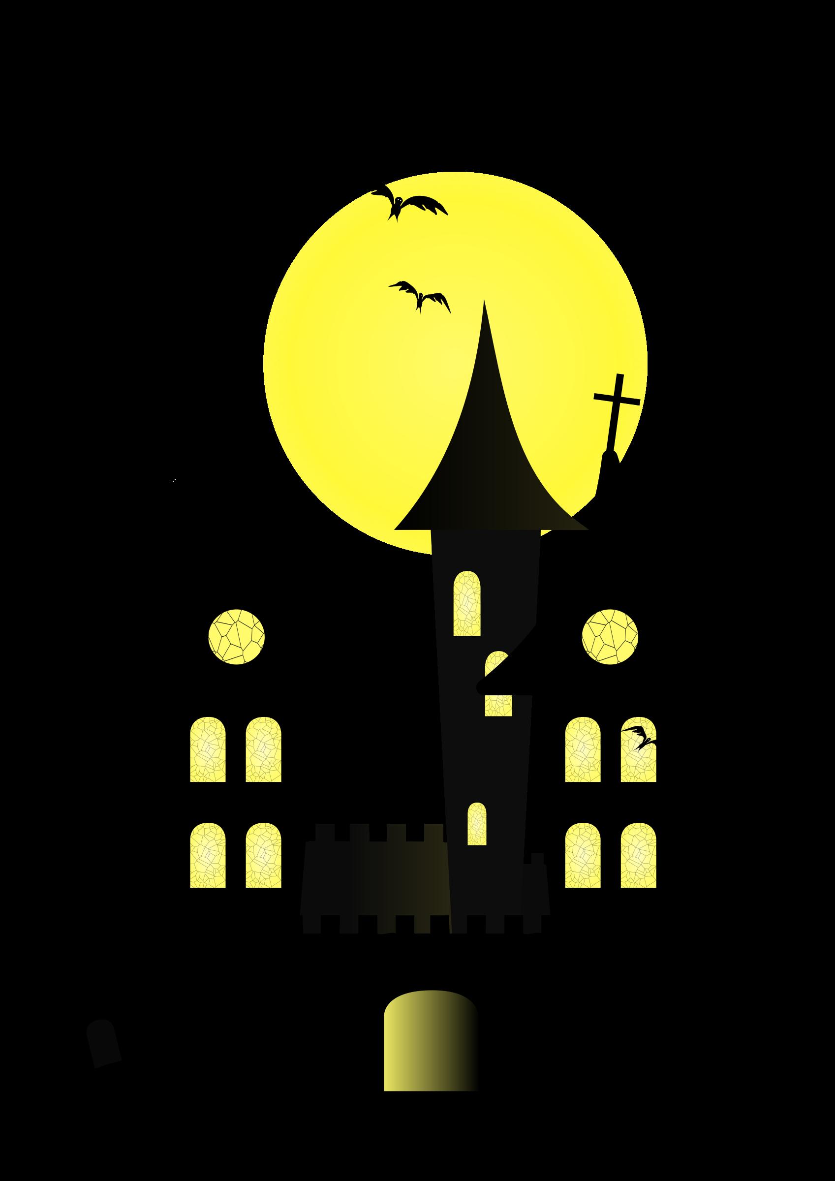 Halloween castle