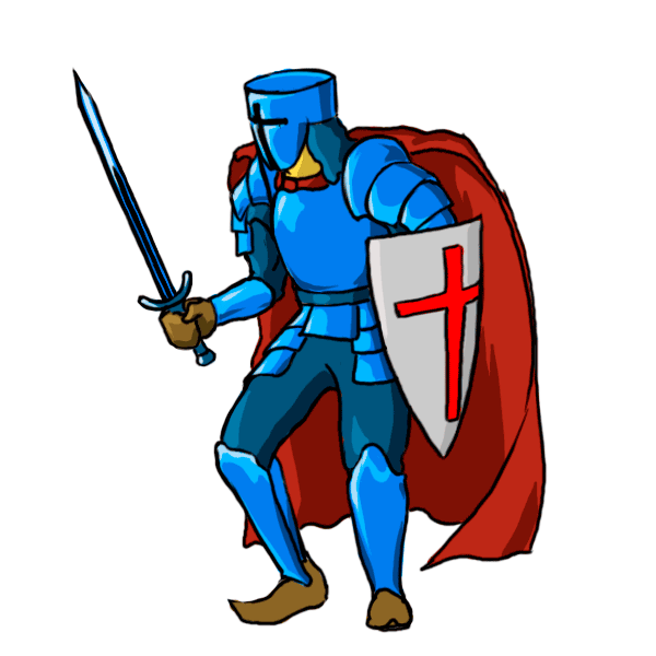 Cartoon drawing at getdrawings. Clipart castle knight