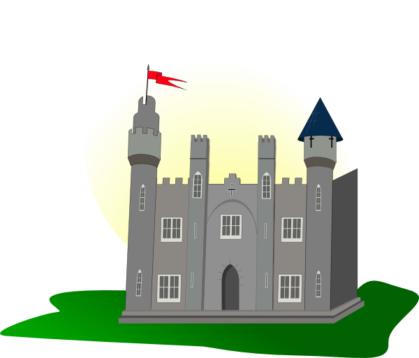 Clip art at clker. Clipart castle mansion