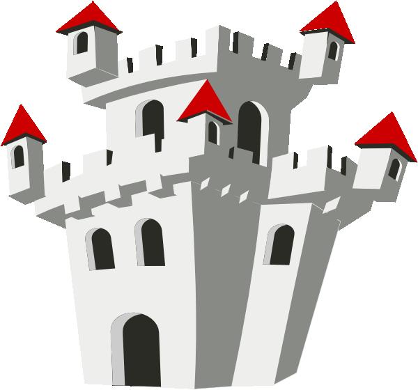 Clip art at clker. Clipart castle medieval